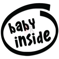 Baby Inside Car Decal Sticker Sticker Style 3