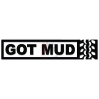 Got Mud Jeep Off Road Tire Tracks Decal Sticker