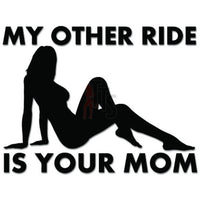 My Other Is Your Mom JDM Japanese Decal Sticker