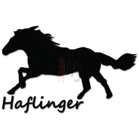 Haflinger Horse Decal Sticker Style 1