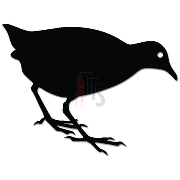 Crake Bird Animal Wildlife Decal Sticker