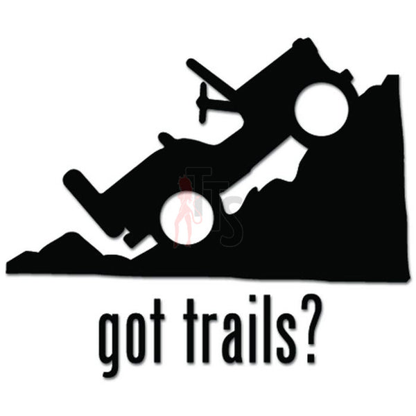 Got Jeep Mountain Off Road 4x4 Decal Sticker