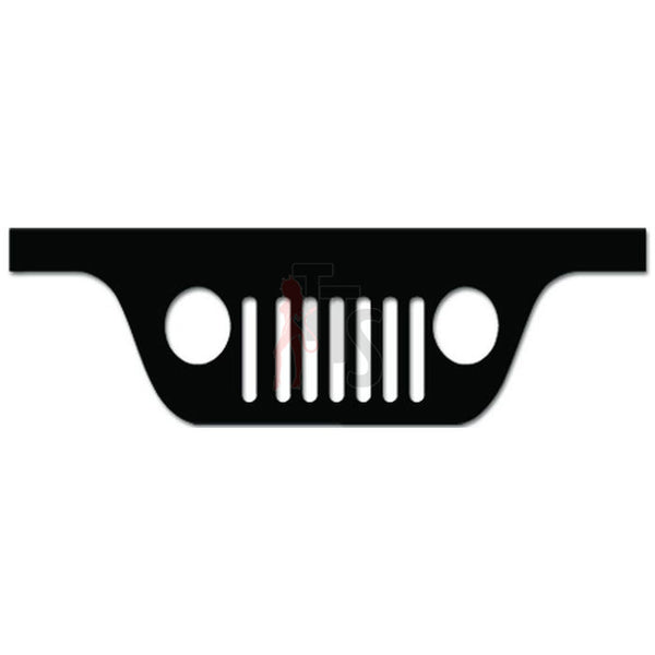 Jeep Off Road 4x4 Grill Decal Sticker