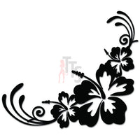 Islands Hibiscus Flower Hawaii Decal Sticker Style 2