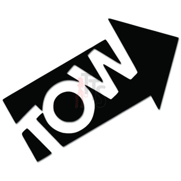 Tow Truck Arrow JDM Japanese Decal Sticker