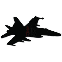 F-18 Hornet Jet Fighter Military Plane Decal Sticker Style 2