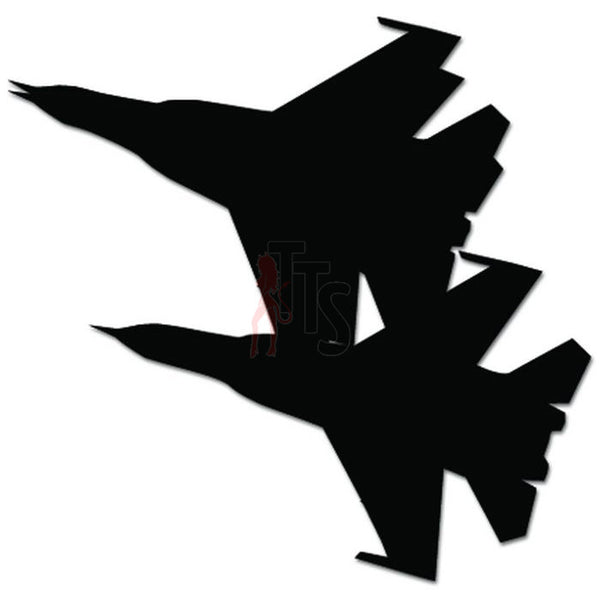 F-18 Hornet Jet Fighter Military Plane Decal Sticker Style 3