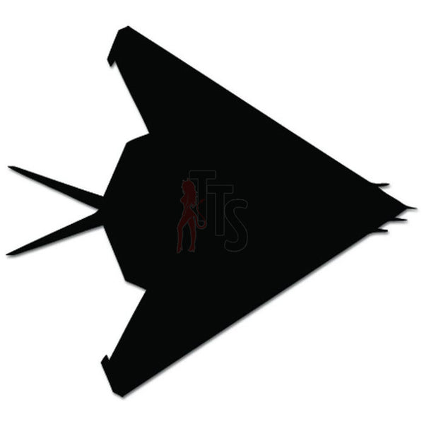 F-117 Nighthawk Fighter Military Plane Decal Sticker Style 2