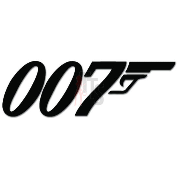 James Bond 007 Spy Decal Sticker