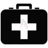 First Aid Kit Box Sign Decal Sticker