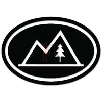 Camping Outdoor Mountain Decal Sticker