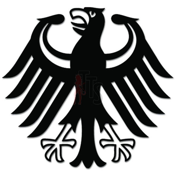 Germany Eagle Coat Of Arms Decal Sticker