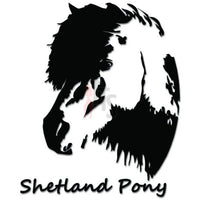 Shetland Pony Horse Decal Sticker