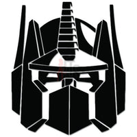 Optimous Prime Head Retro Decal Sticker