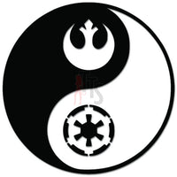 Rebel Empire Ying Yabng Star Wars Decal Sticker