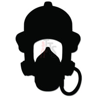Firefighter Head Gear Fireman Decal Sticker