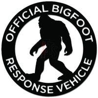 Official Bigfoot Response Vehicle Decal Sticker Style 1