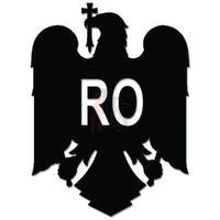 Coat Of Arms Eagle Romania Decal Sticker