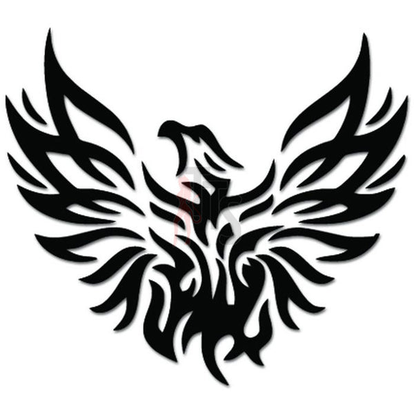 Phoenix Firebird Greek Decal Sticker
