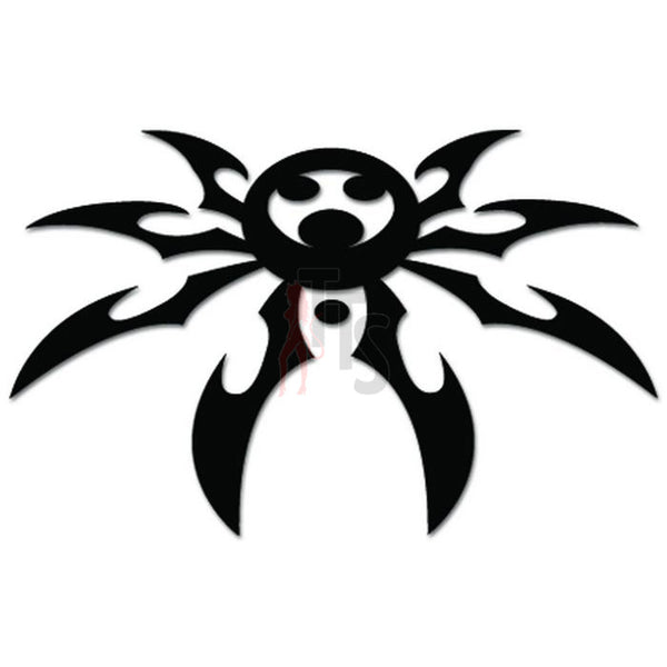 Tribal Spider Tattoo Web Decal Sticker