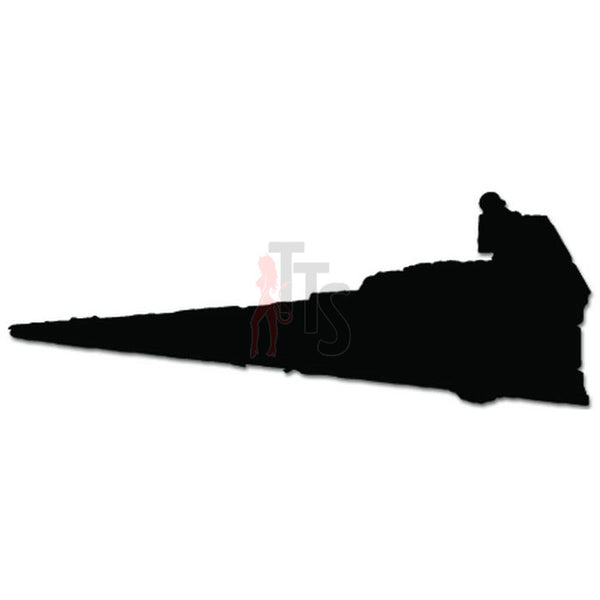 Galactic Empire Imperial Class Destroyer Spaceship Decal Sticker