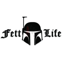 Feft Life Boba Hunter Decal Sticker