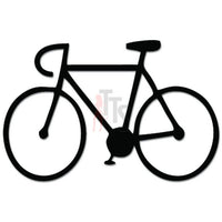 Bicycle Bicyclist Cycling Decal Sticker