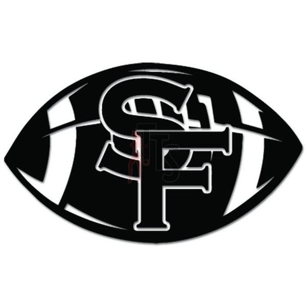Football Fan San Francisco Decal Sticker
