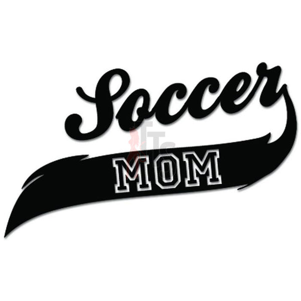 Soccer Mom Sport Decal Sticker Style 2