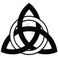 Celtic Trinity knot Triquetra Decal Sticker Style 1