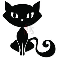 Cute Kitty Cat Long Tail Decal Sticker