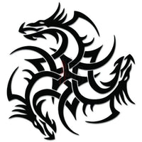 Tribal Dragon Celtic Decal Sticker
