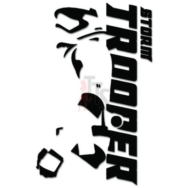 Stormtrooper Recruitment We Want You Decal Sticker