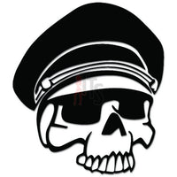 Death Skull Military General Decal Sticker