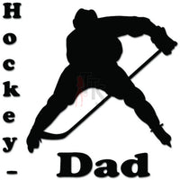 Hockey Dad Decal Sticker