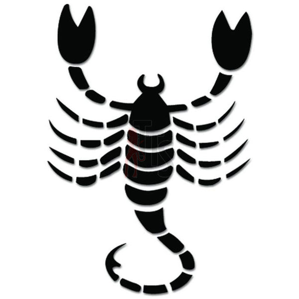 Zodiac Scorpion Sign Decal Sticker