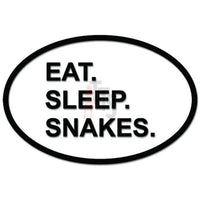 Eat Sleep Snakes Hunting Daily Activity Decal Sticker