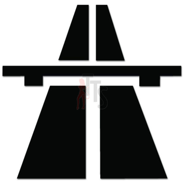 Germany Autobahn Highway Freeway Decal Sticker