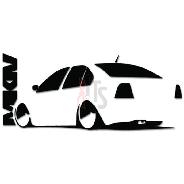 Euro Europen VAG Auto Decal Sticker
