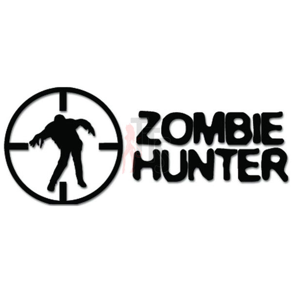 Zombie Hunter Target Scope Crosshair Decal Sticker