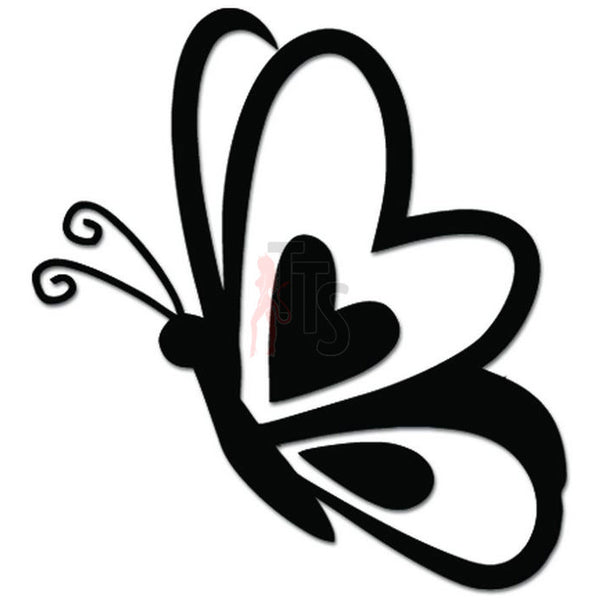 Beautiful Butterfly Decal Sticker