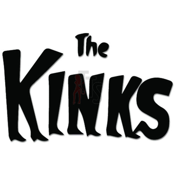 The Kinks Rock Music Decal Sticker