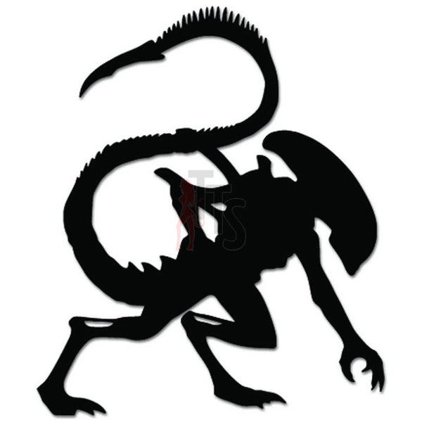 Alien Xenomorph Monster Decal Sticker