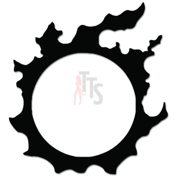 Final Fantasy Realm Reborn Sun Gaming Decal Sticker
