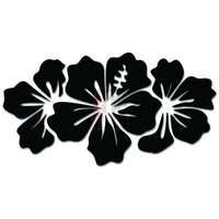 Hibiscus Flowers Hawaii Decal Sticker Style 4