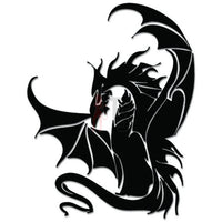 Tribal Dragon Fire Breather Decal Sticker