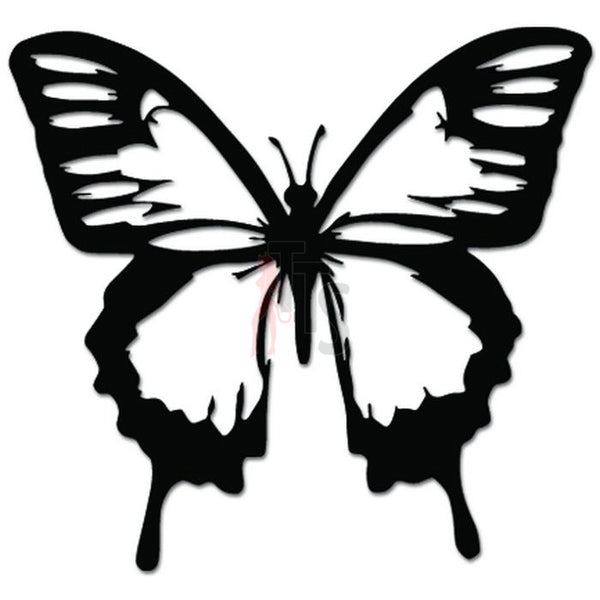 Butterfly Insect Decal Sticker Style 1