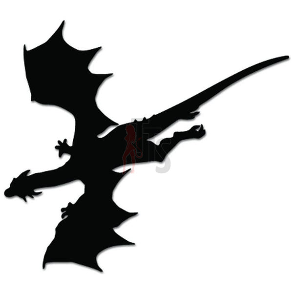 Dragon Flying Soaring Decal Sticker