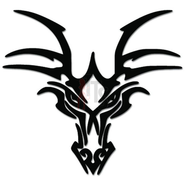 Tribal Tattoo Dragon Decal Sticker
