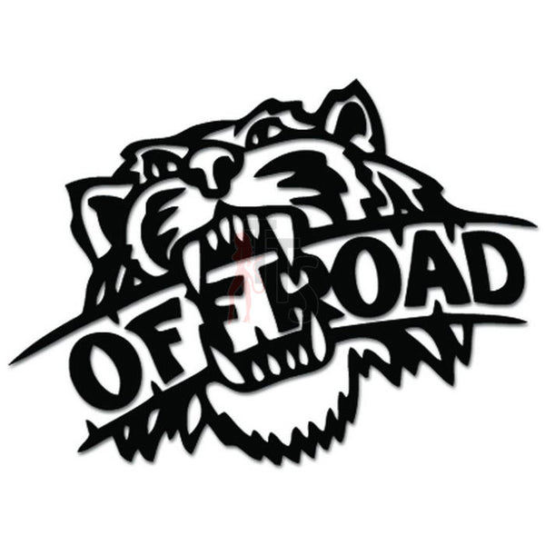 Off Road Tiger 4x4 Decal Sticker